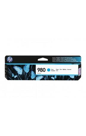 Cartus cerneala original HP 980 Cyan 6.6k (D8J07A)