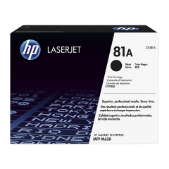 Cartus toner original HP 81A Black 10.5k (CF281A)
