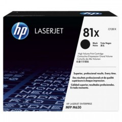Cartus toner original HP 81X Black 25k (CF281X)