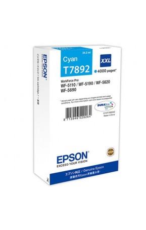 Cartus cerneala original Epson C13T789240 XXL Cyan