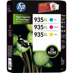 Cartus cerneala original HP 935XL Office Value 3-Pack (F6U78AE)