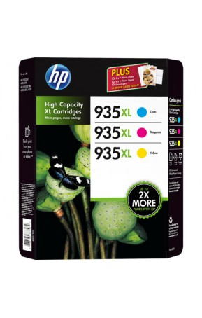 Cartus cerneala original HP 935XL Office Value 3-Pack (F6U78AE)