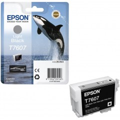 Cartus cerneala original Epson LIGHT BLACK C13T76074010