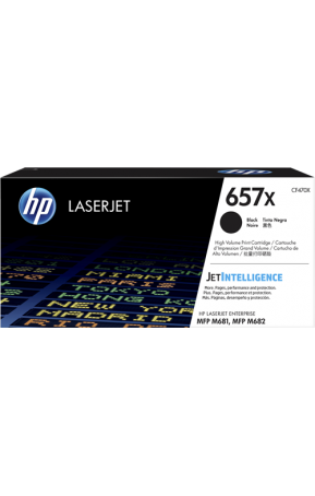 Cartus toner original HP 657X Black (CF470X)