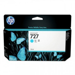Cartus cerneala original HP 727 300ml Cyan (F9J76A)