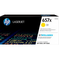 Cartus toner original HP 657X Yellow (CF472X)
