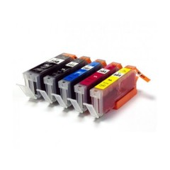 Cartuse cerneala compatibile PGI-550XL-CLI-551XL 5 buc B-C-M-Y-Bk