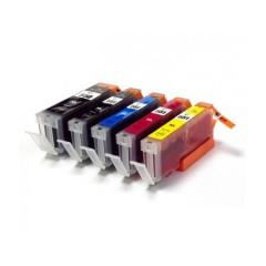 Cartuse cerneala compatibile PGI-580XXL-CLI-581XXL 5-pack B-C-M-Y-Bk