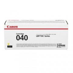 Cartus toner original Canon CRG040Y