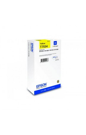 Cartus cerneala original Epson C13T755440 XL Yellow