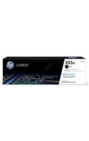 Cartus toner original HP 203A CF540A Black 1.400 pagini
