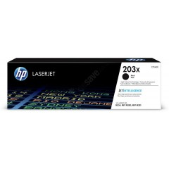 Cartus toner original HP 203X CF540X Black 3.200 pagini