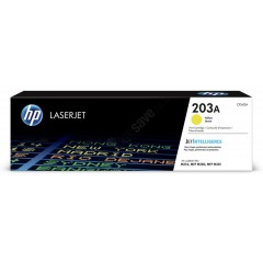 Cartus toner original HP 203A CF542A Yellow 1.300 pagini