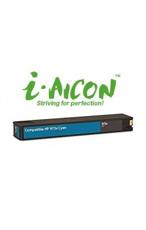 Cartus cerneala compatibil i-Aicon 973X H-F6T81AE Cyan