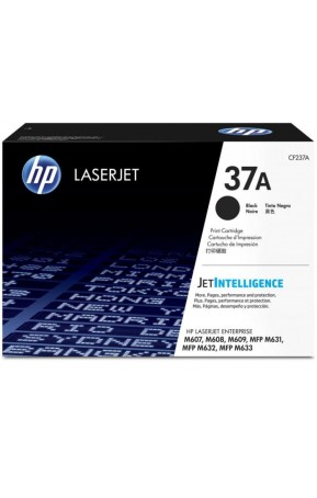 Cartus toner original HP 37A Black 11k (CF237A)