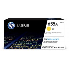 Cartus toner original HP 655A Yellow (CF452A)