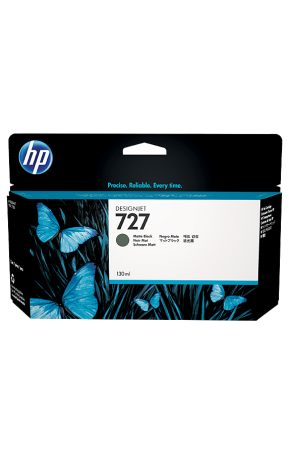 Cartus cerneala original HP 727 130ml (B3P22A) Matte Black