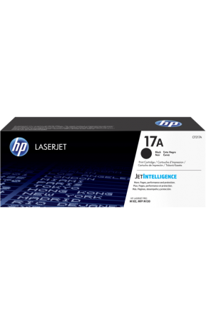 Cartus toner original HP 17A Black (CF217A)