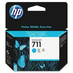 Cartus cerneala original HP 711 29ml Cyan