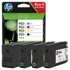 Cartus cerneala original HP 953XL BCMY Pack (3HZ52AE)