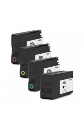 Cartuse cerneala compatibile HP 953XL 4 Pack