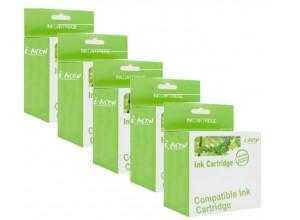 Cartuse cerneala compatibile i-Aicon C-PGI-550XL-CLI-551XL 5 buc B-C-M-Y-Bk