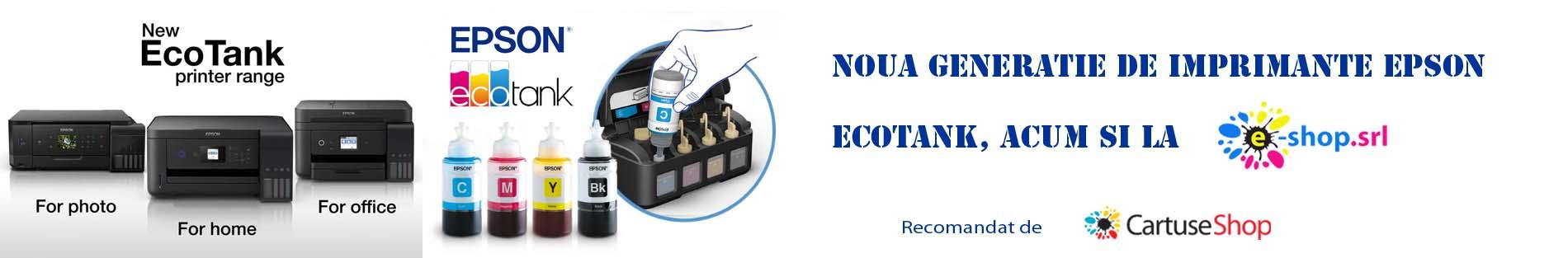 Noua generatie de imprimante Epson Ecotank la e-shop.srl