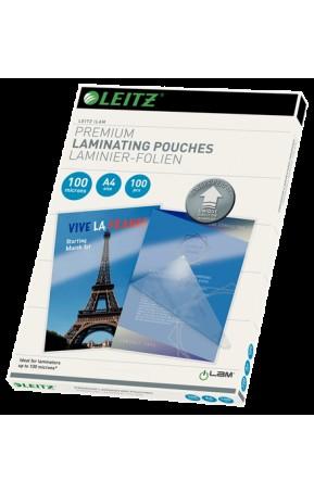 Folie de laminare A4 UDT 100 microni iLam Leitz