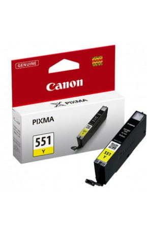 Cartus cerneala original Canon CLI-551Y yellow