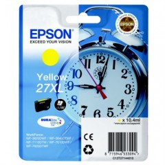Cartus cerneala original EPSON 27XL C13T27144010 Yellow