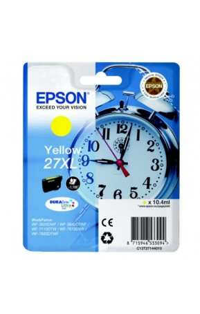 Cartus cerneala original EPSON 27XL C13T27144012 Yellow