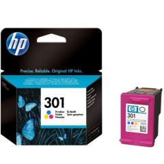 Cartus cerneala original HP CH562EE (301 Tri-colour)
