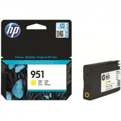 Cartus cerneala original HP 951 Yellow (CN052AE)