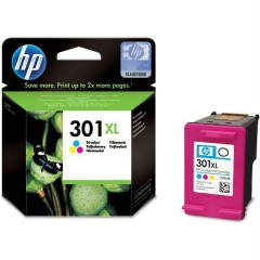 Cartus cerneala original HP CH564EE (301XL Tri-colour)