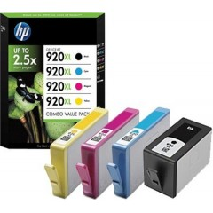 Cartus cerneala original HP 920XL CMYK pack
