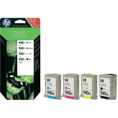 Cartus cerneala original HP 940XL CMYK pack