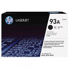 Cartus toner original HP 93A Black (CZ192A)