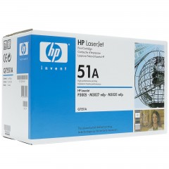 Cartus toner original HP Q7551A
