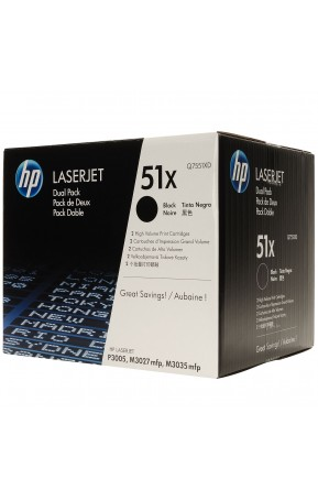 Cartus toner original HP Q7551XD