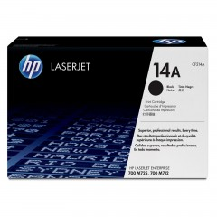 Cartus toner original HP 14A (CF214A) Black