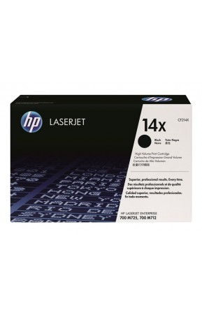 Cartus toner original HP 14X (CF214X) Black