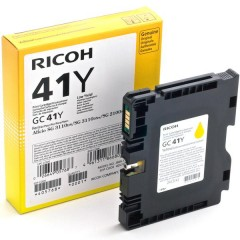 Cartus cerneala original Ricoh 405764 GC-41Y yellow 2200 pagini