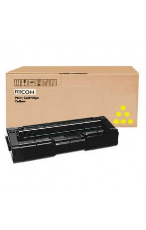 Cartus toner original Ricoh 406351-407639 2500 pagini Yellow