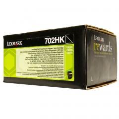 Cartus toner original Lexmark 70C2HK0 Black 4.000 pagini