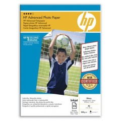 Hartie foto HP Photo Advanced Glossy A4 50COLI 250G
